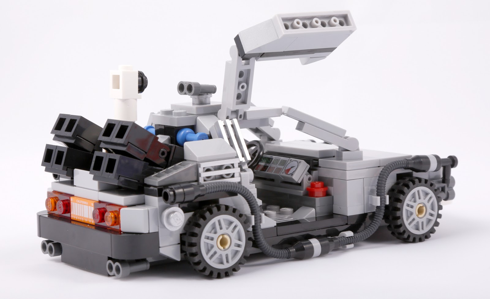 The Brickverse: Review: 21103 Back to the Future ...