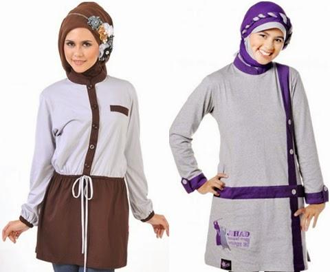 gambar model baju wanita muslim 2016
