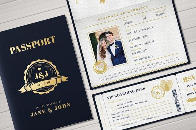 Desain Undangan Pernikahan Yang Menginspirasi