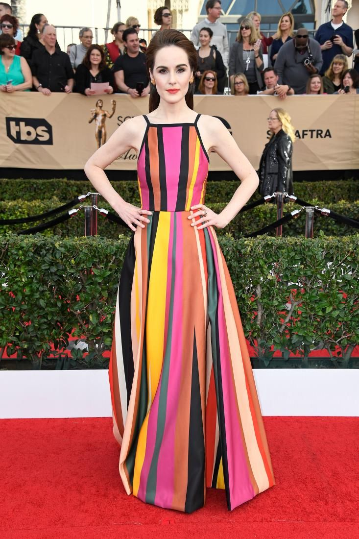 Michelle Dockery fashion designer