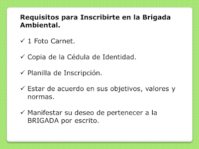 Requisitos para inscribirte en una Brigada Ambiental