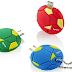 Apacer AH174 Football Mobile Flash Drive: Lively contrast colors in sports style!
