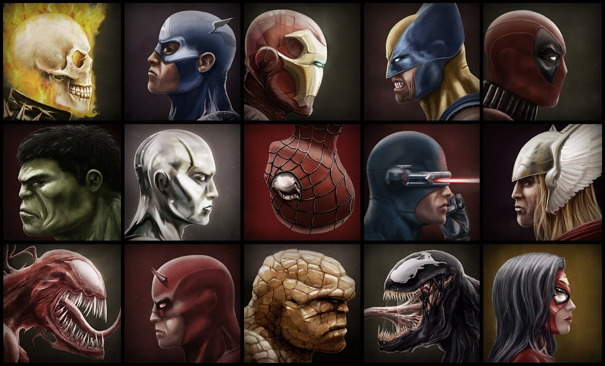 Simple Wallpaper Marvel Face - marvel-faces  You Should Have_928563.jpg