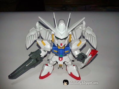 SD Gundam Legilis Straight Build