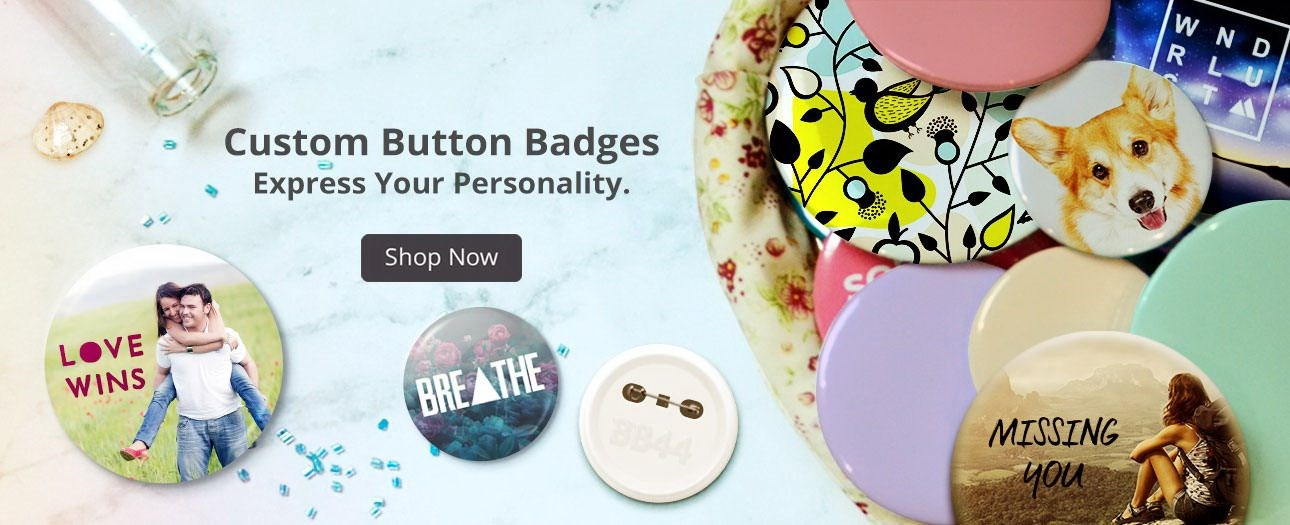 Click Banner For Custom Button Badge