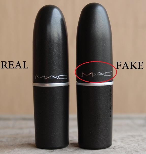 real vs fake mac cosmetics products how to spot fake mac