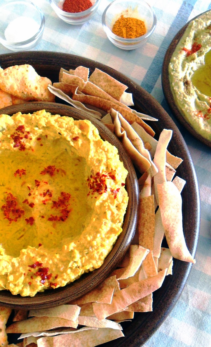 'Like' this pin to vote for Pascale De Groof's @scrapwedo Carrot - Ginger Hummus Dip! #HSPinParty