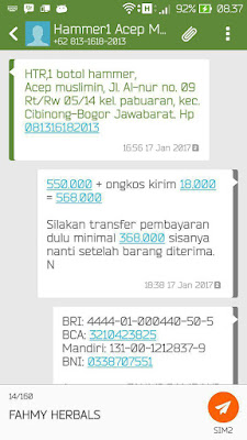 Testimoni Obat Kuat Herbal Hammer Of Thor