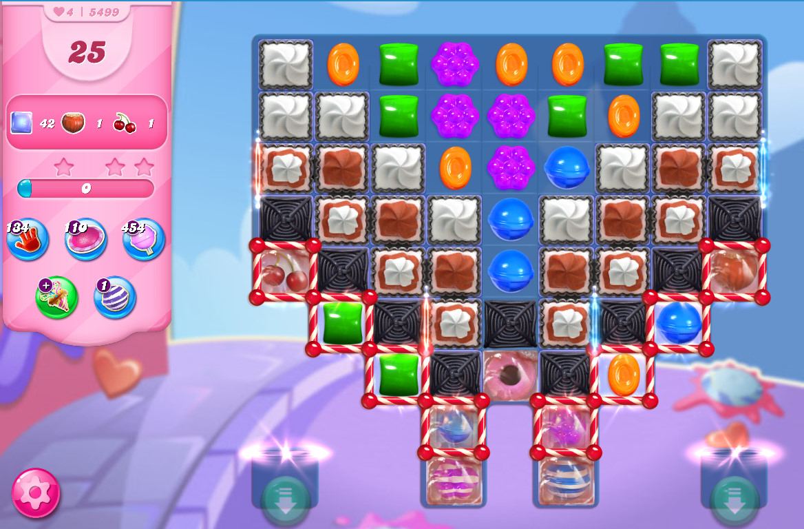 Candy Crush Saga level 5499