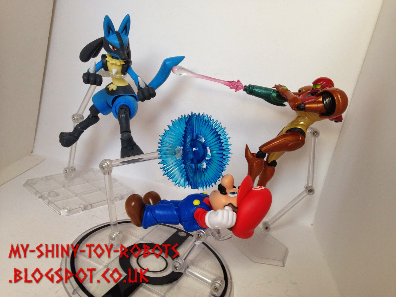Lucario joins the brawl!