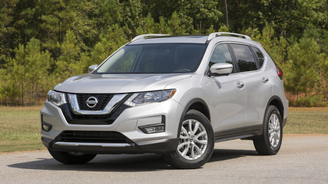 2017 Nissan Rogue Facelift Canada