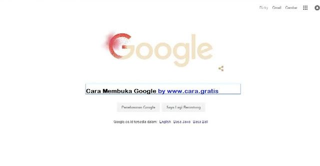 Cara Membuka Google