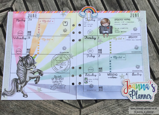jonna`s-planner-scrappers-unicorn-delight
