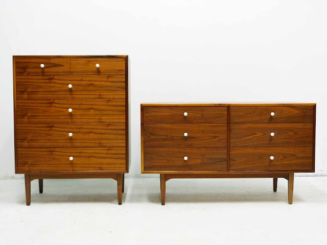 Drexel Declaration Dresser and Chest Kipp Stewart Stewart MacDougall