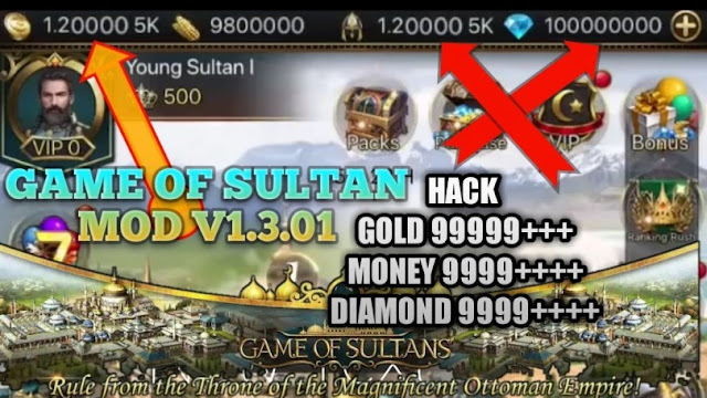 Download Game Of Sultans APK Mod 2019 Terbaru | Diamond - Gold Unlimited