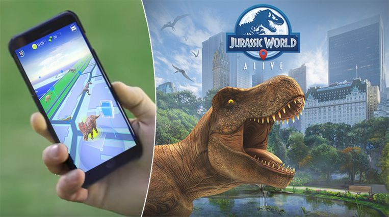Jurassic World Alive v2.6.30 Apk Mod [VIP Enabled