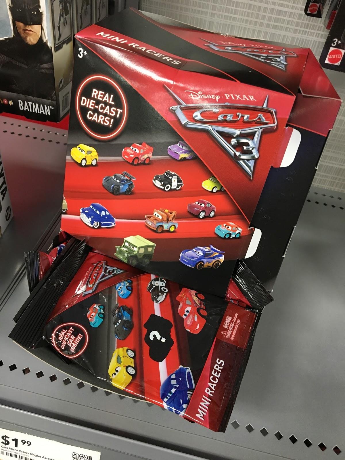 Dan The Pixar Fan Cars 3 Mattel Mini Racers Blind Bag
