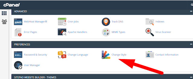 Simple steps to change the theme of your cPanel account