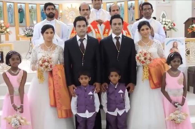 город близнецов - свадьба в индии