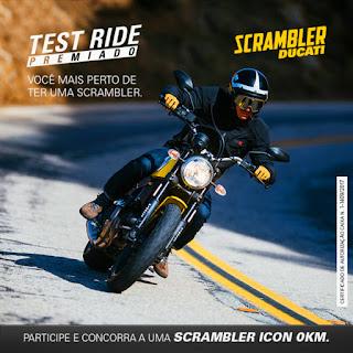"Promoção ""Test Ride Premiado Ducati"