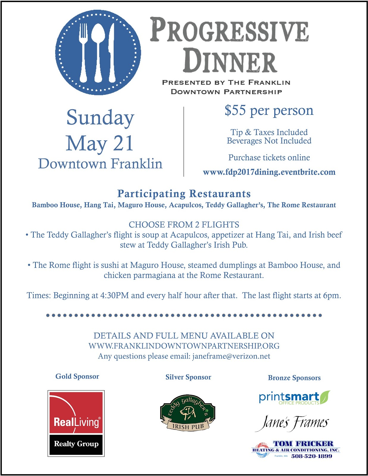 Franklin Downtown Partnership Sponsorship