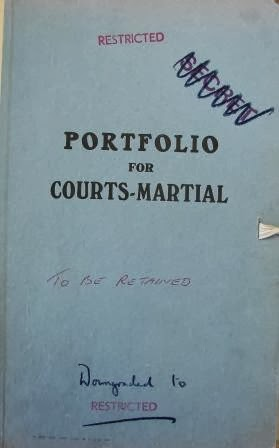 Court Martial document of Josef Jakobs, National Archives