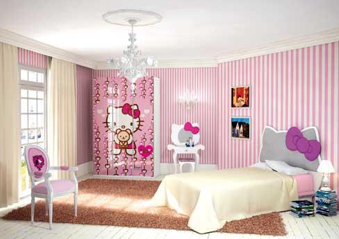 DORMITORIOS HELLO KITTY BEDROOMS via wwwdormitoriosblogspotcom