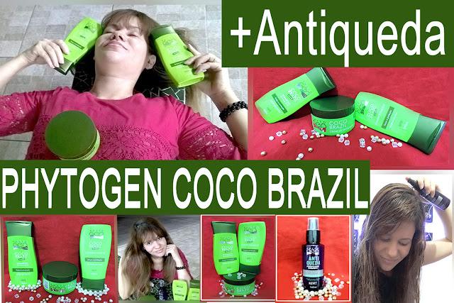CABELO RESTAURADO, BRILHOSO E FORTE - RESENHA PHYTOGEN COCO BRAZIL - BLOG ROXACHIC