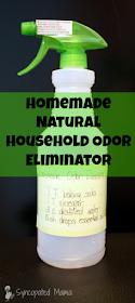 Syncopated Mama Homemade Natural Household Odor Eliminator