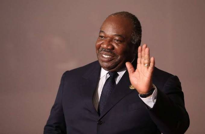 Gabon's president speaks for first time after stroke