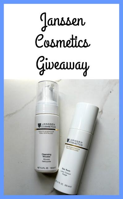 Janssen Cosmetics Giveaway