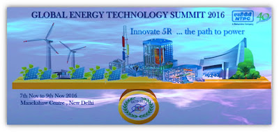Global Energy Technology Summits 2016: Innovate 5R .....The Path to Power