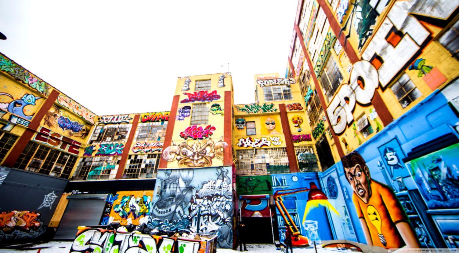 New York City Graffiti ❤ 4K HD Desktop Wallpaper for 4K Ultra HD