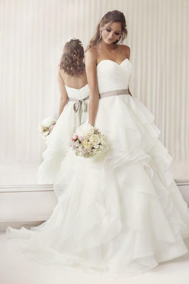 Vestidos de novia corte princesa, ¡conviértete en una princesa de ...