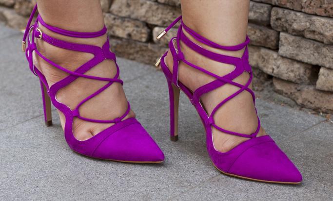 pink zara shoes