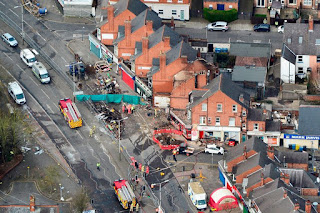 Five in custody over Leicester explosion that demolished building and killed five
