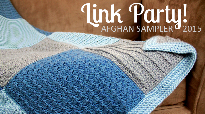 The Inspired Wren: Link Up! Crochet Along Afghan Sampler 2015