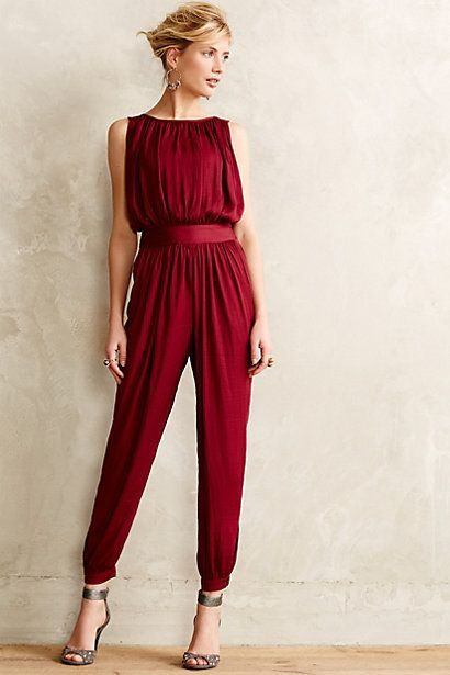 Beautiful Maroon Jumpsuit