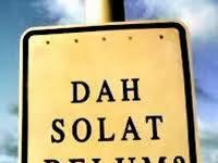 Menyegerakan Sholat pada Awal Waktu