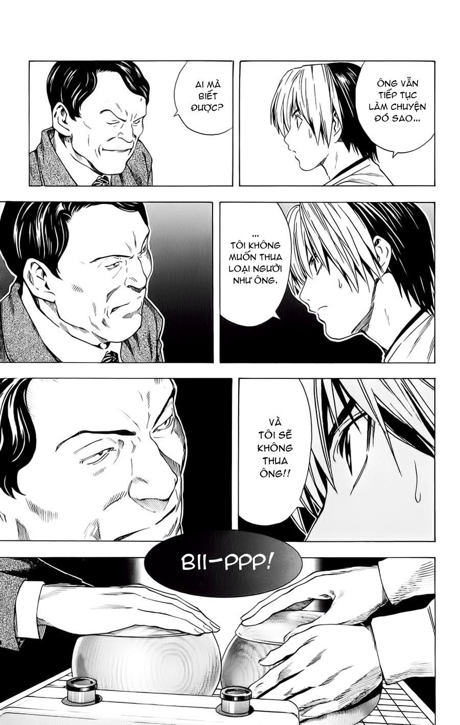 Hikaru No Go hikaru no go chap 152 trang 17