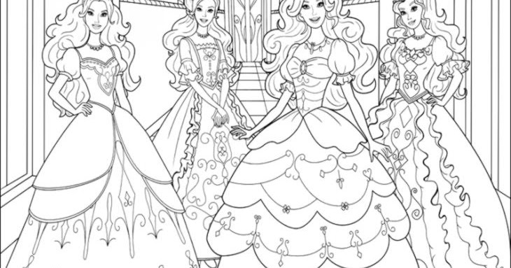 Free Printable Coloring Pages Barbie And The Three Musketeers ... | 383x730