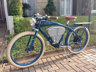 Barangkali Ada Yang Minat..Dijual Sepeda Listrik Model Vintage - JAKARTA