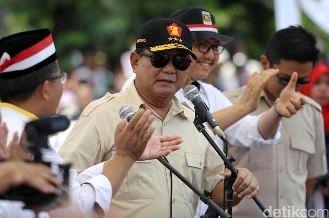 Gerindra Deklarasi Pencapresan Prabowo 11 April 2018