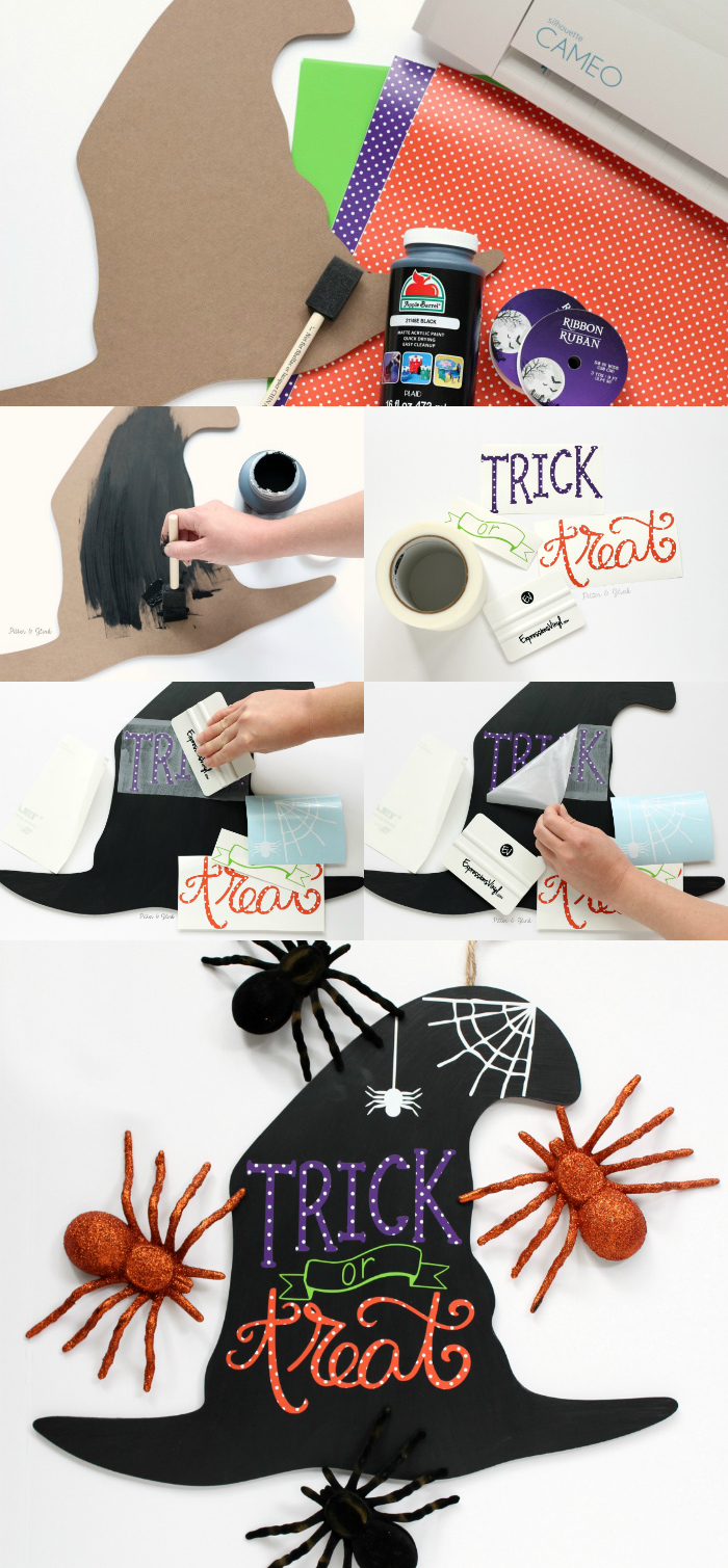 steps to make halloween art