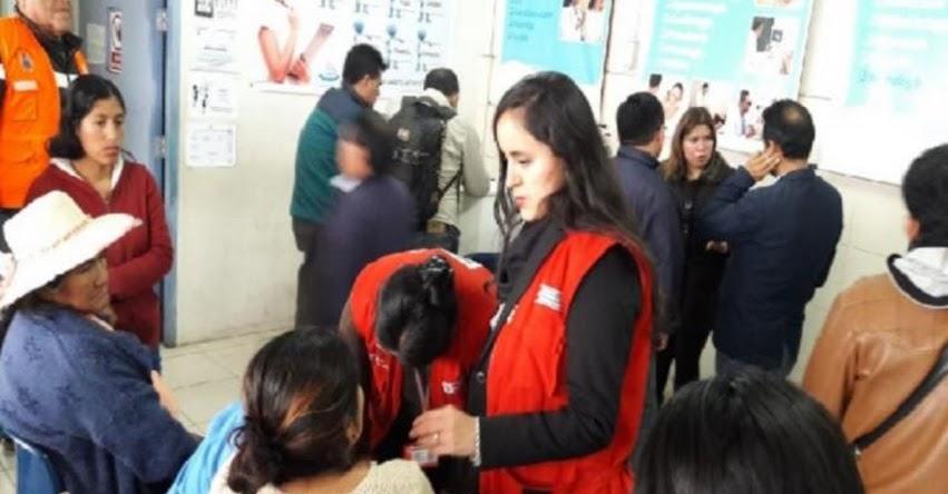 MIDIS: Fueron dados de alta todos los escolares intoxicados en Cañete - www.midis.gob.pe