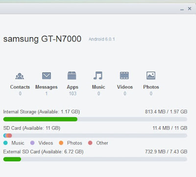 Update Android 6 Marshmallow di Galaxy Note N7000