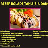 Resep Masakan Rolade Tahu Isi Udang dan Cara Membuatnya