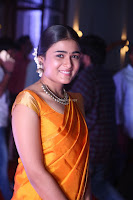 Shalini Pandey in Beautiful Orange Saree Sleeveless Blouse Choli ~  Exclusive Celebrities Galleries 028.JPG
