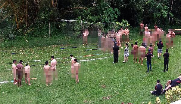 39 ditahan buat aktiviti bogel di pusat peranginan Pahang