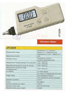 Darmatek Jual Kitamoto JT-3239 Vibration Meter